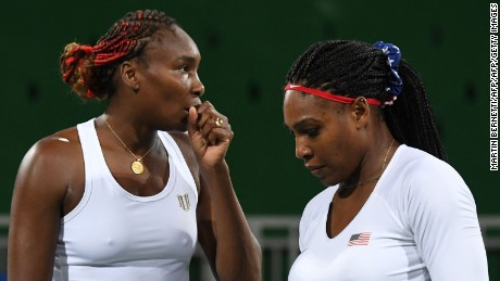 Serena and Venus have won three Olympic doubles titles.