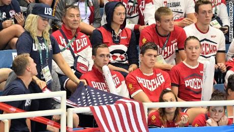 Russian athletes booed at Rio Olympics