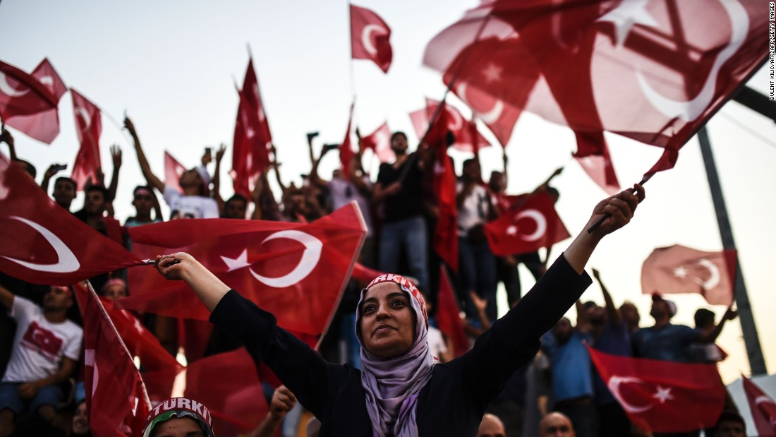Amid this popular support, Erdogan has embarked on a massive campaign of arrests of people allegedly linked with the coup.