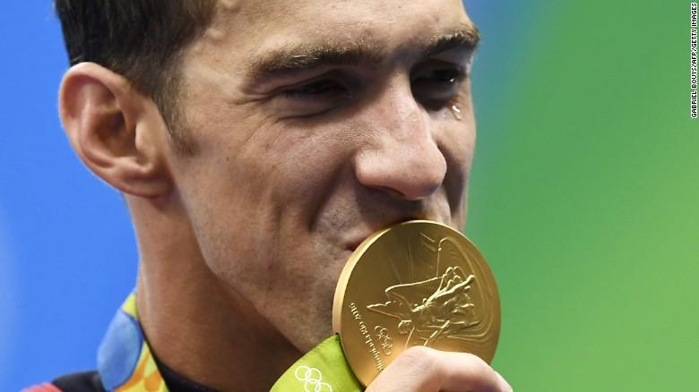 Michael Phelps is ...