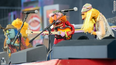 Dr. Teeth and The Electric Mayhem perform during the 2016 Outside Lands Music And Arts Festival on August 7 in San Francisco.
