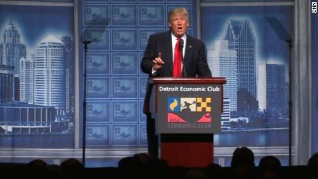 Donald Trump's full speech on the economy