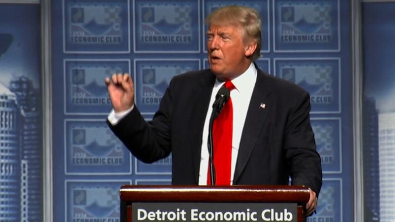 Donald Trump revises his tax plan, raises top rate
