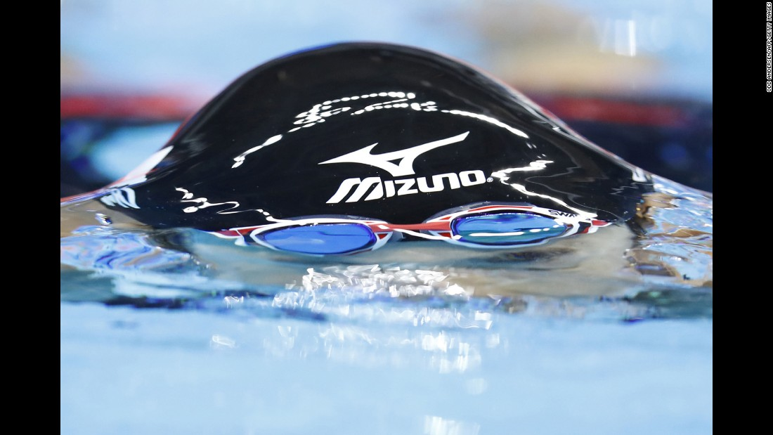 Japanese swimmer Miho Teramura competes in the 200-meter individual medley. She qualified for the semifinals.