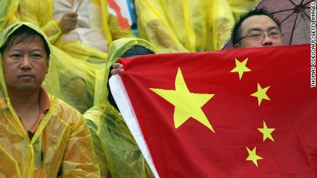 Rio 2016: Wrong Chinese flag used in medal ceremonies