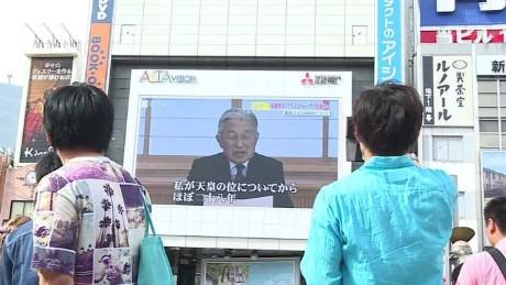 Japanese Emperor Makes Subtle Plea to Abdicate