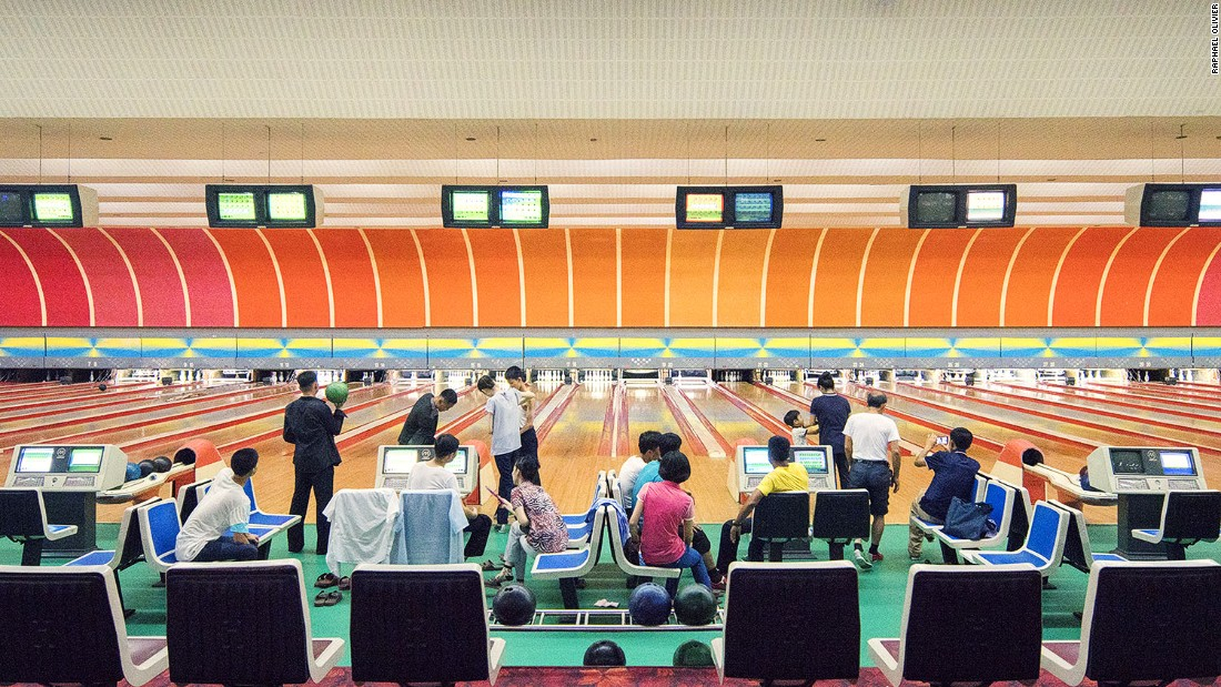 """""""This venue is a rare opportunity for tourists to mix with locals in a friendly and relaxed atmosphere. The decor is superb as any bowling arena should be, with a subtle gradient orange backdrop and remarkable flowery carpet."""""""