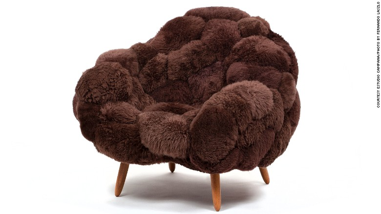 "The Campana Brothers' ""Bolotas"" armchair"