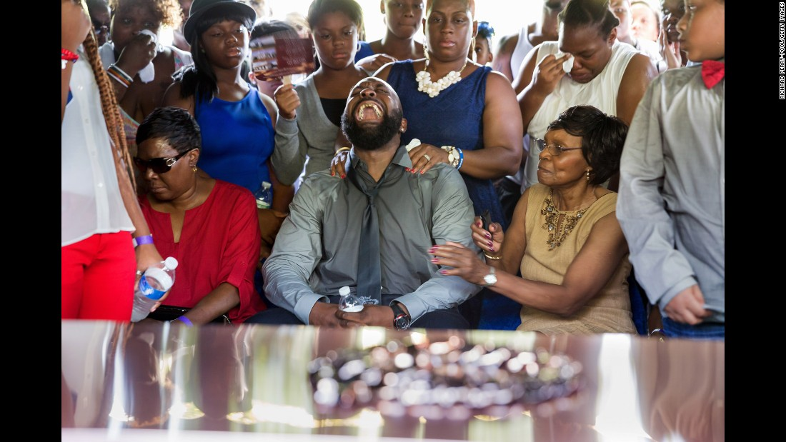 Brown was a recent high school graduate and was days away from starting college when he was killed. His father, Michael Brown Sr., cried out at his son's funeral in St. Louis.