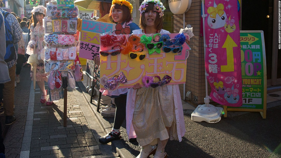 Harajuku is where Japan's youth subcultures gather on Sundays to see and be seen. It might just be the most fashion-conscious place on the planet.