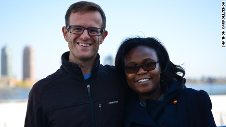 Enda co-founders Weldon Kennedy and Navalayo Osembo-Ombati
