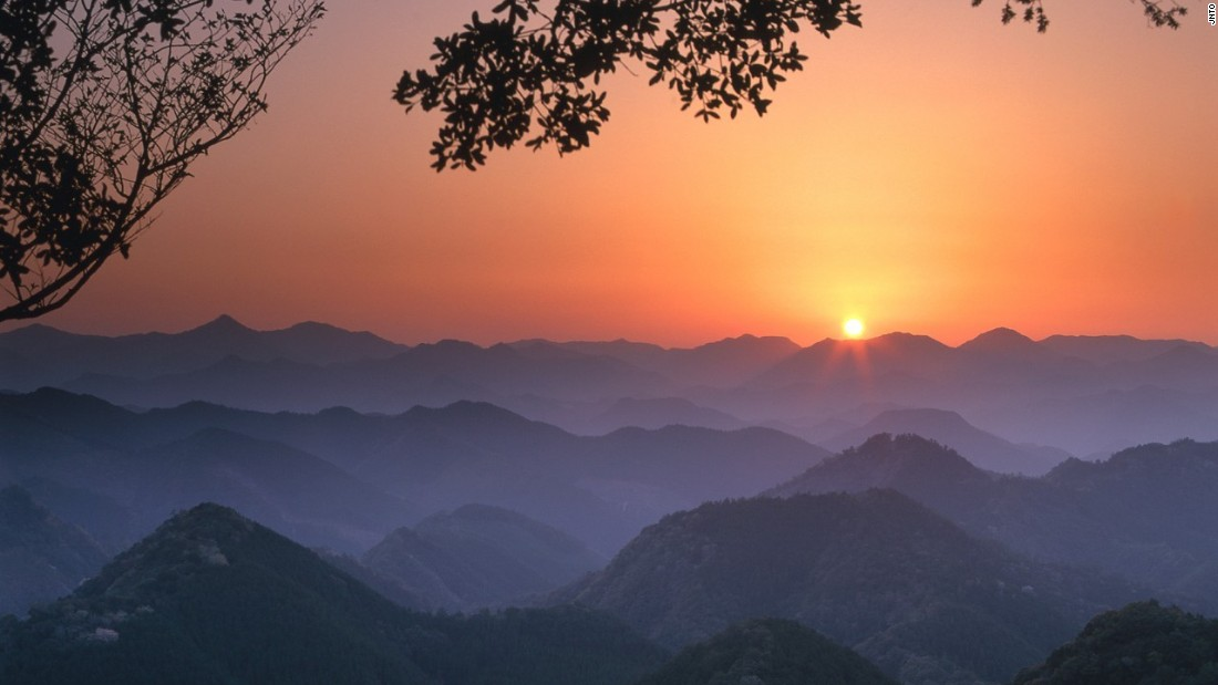 """<a href=""""http://edition.cnn.com/2013/05/06/travel/japan-kumano-kodo-hike/"""">Kumano Kodo</a>, as seen here from the famous Hyakken-gura viewpoint, is a network of seven pilgrimage routes. It's one of only two UNESCO-listed pilgrimages in the world."""