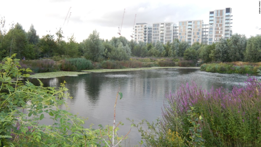 Queen Elizabeth Olympic Park also includes a wetland bird sanctuary and nature trail.