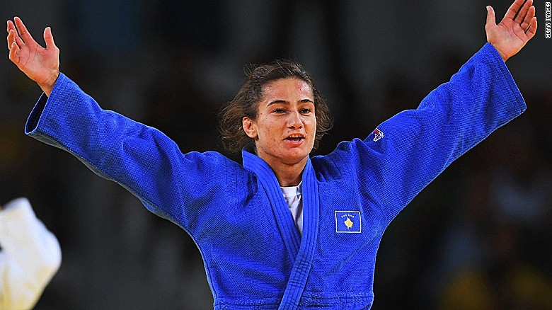 Judo champ thrills Kosovo with first ever gold medal