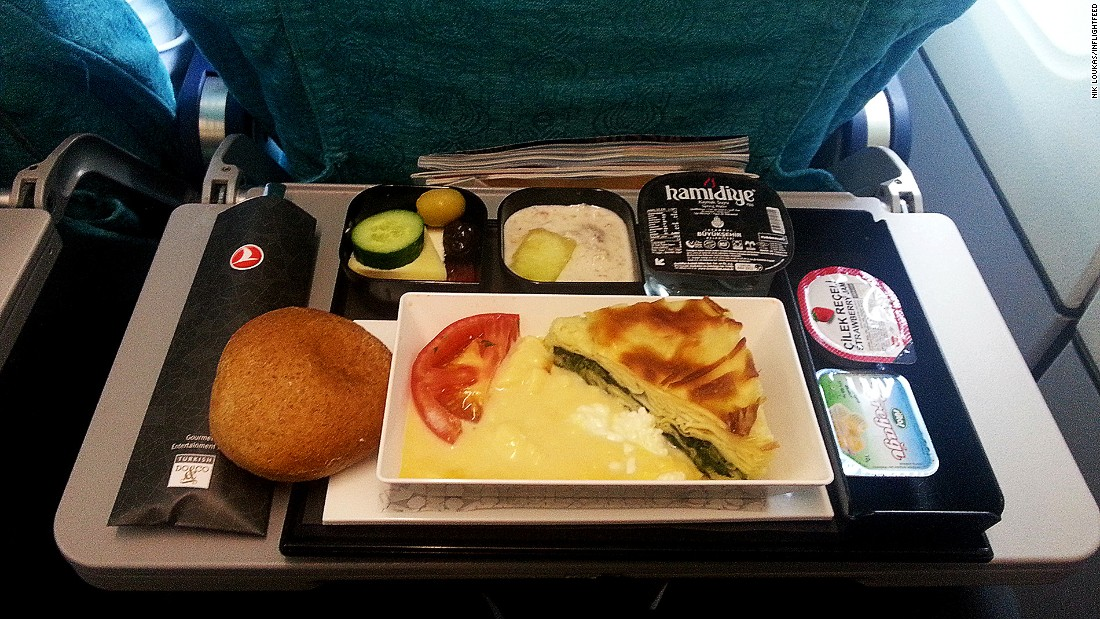 Best Airline Food Economy