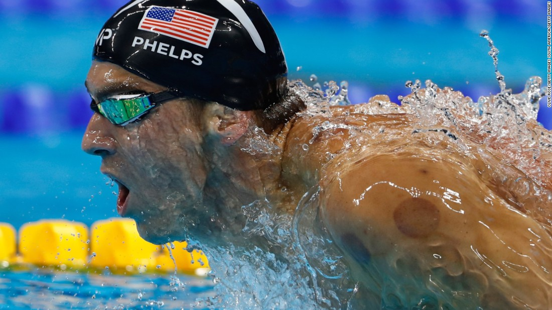 Olympian Michael Phelps and several other professional and Olympic athletes have trained using WHOOP, the first scientifically-grounded device specifically designed to help elite athletes perform at ultimate levels. (Photo by Clive Rose/Getty Images)