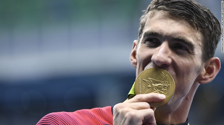 """Michael Phelps has trained with an activity tracker developed in Massachusetts' """"Miracle Mile."""""""