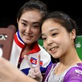 viral olympics korean selfie