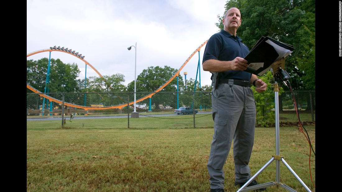 "A teen was <a href=""http://www.cnn.com/2008/US/06/28/theme.park.fatality/index.html?iref=newssearch"">decapitated</a> by the Batman roller coaster at Six Flags Over Georgia in 2008. He was struck by a train after he scaled two fences around the ride to retrieve his lost hat."