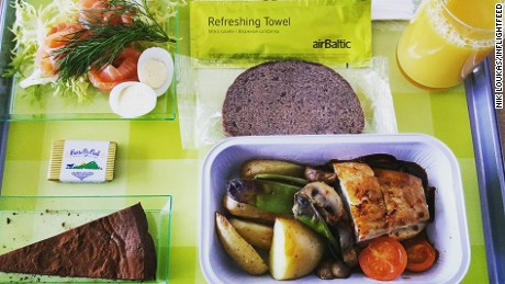inflightfeed airline food AlrBaltic