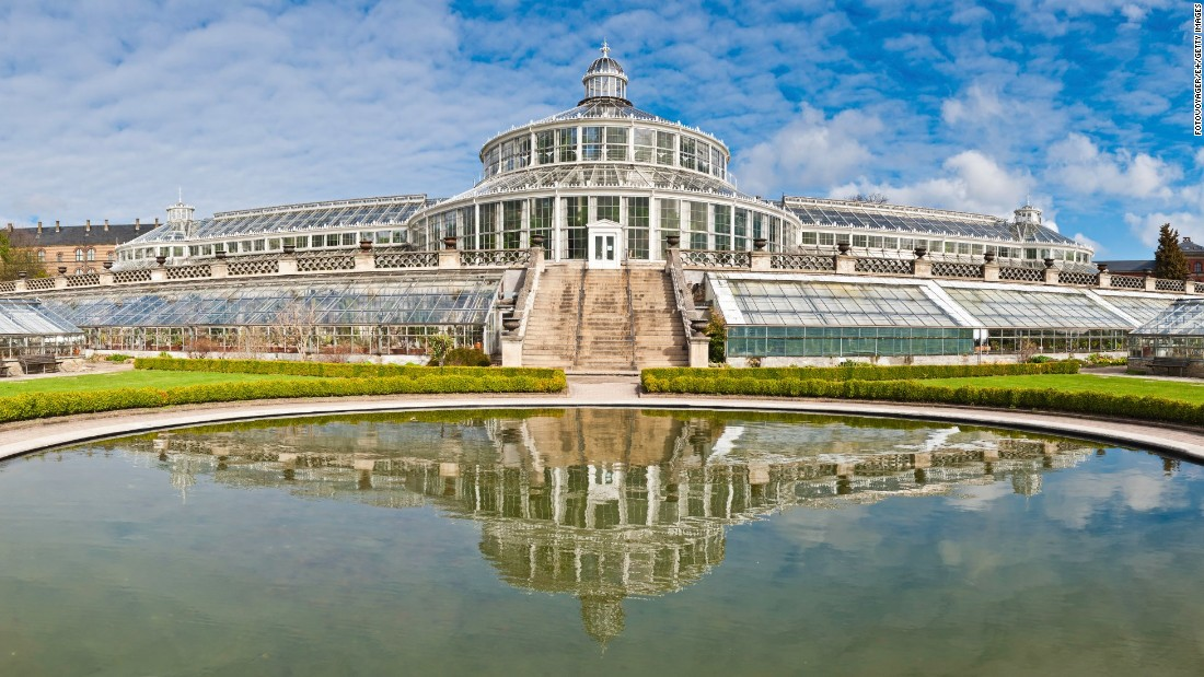 """Of the 27 glasshouses in <a href=""""http://botanik.snm.ku.dk/english/"""" target=""""_blank"""">Copenhagen's Botanical Garden</a>, the Palm House is the most famous. It was built by Carlsberg Breweries founder J. C. Jacobsen in 1874."""