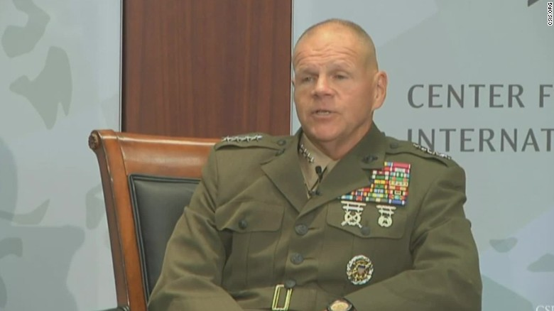 Marine general: We have to operate without cell phones