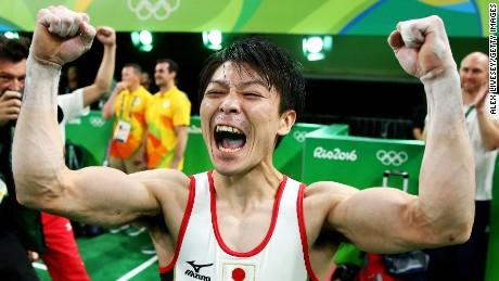Japan's Uchimura, US' Ledecky thrill fans