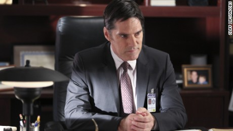 """Actor Thomas Gibson was popular in his role on """"Criminal Minds."""""""