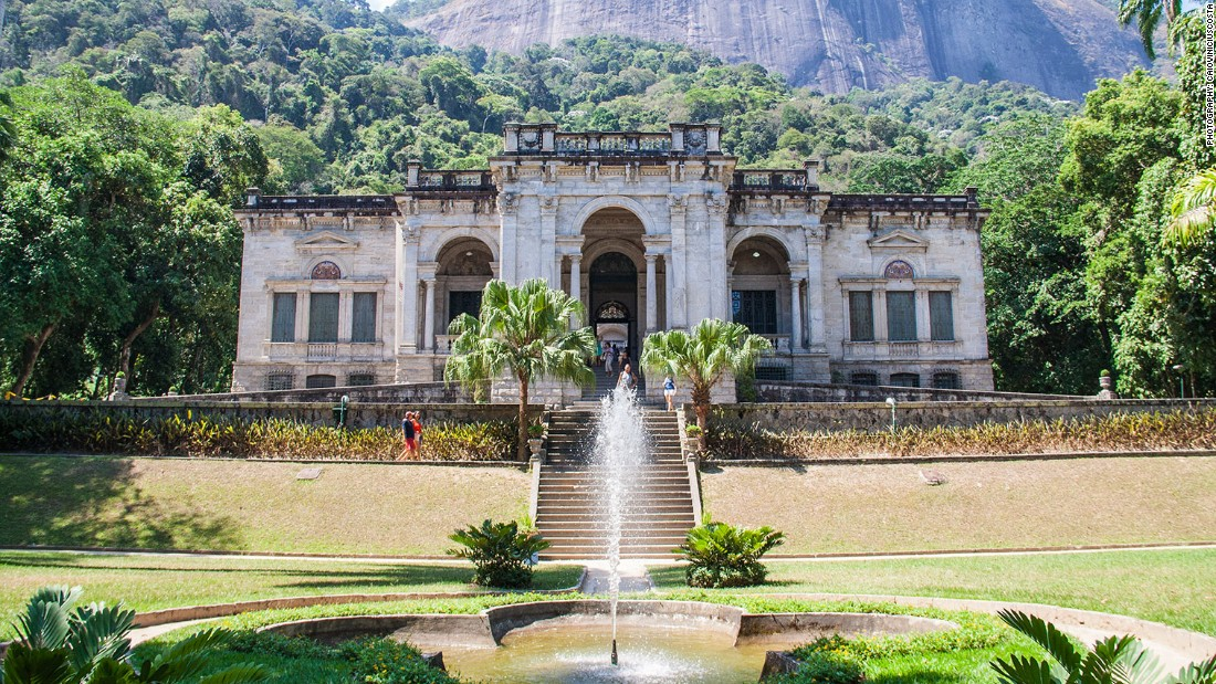 Britain has set up base inside a 19th-century mansion in the leafy grounds of Parque Lage at the foot of Christ the Redeemer. The park has a long-running history with Great Britain, with English landscape architect John Thyndale originally planting the gardens back in 1840. For the British House, event specialist Innovision has eschewed British design clichés for a space that celebrates contemporary art and furniture design.
