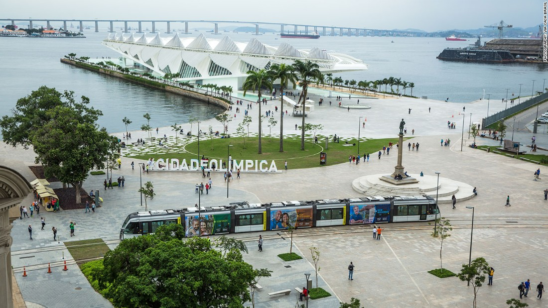 Brazil's Casa Brasil is set on Pier Mauá, part of Rio's redeveloped Olympic Boulevard in a former industrial port. The national house takes over two warehouses, leading visitors on a virtual journey through Brazil's geography, history and culture.