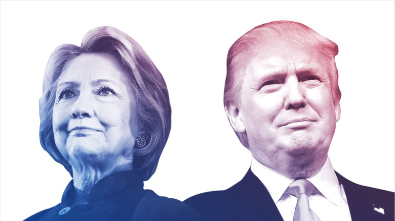 New poll: Clinton gains larger lead on Trump