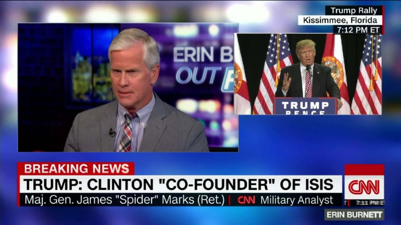 """""""Spider"""" Marks says he's going to vote for Hillary Clinton"""