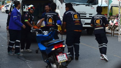 THAILAND BOMB BLASTS HIT TOURIST SPOTS, KILLING AT LEAST FOUR PEOPLE