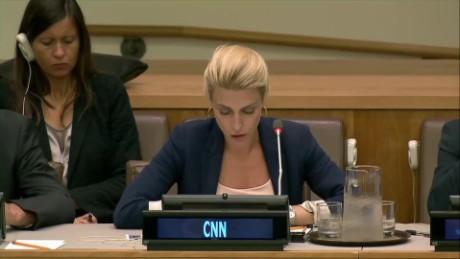 'This is Hell': Clarissa Ward addresses U.N. on Syria