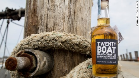 South Hollow Spirits produces two rums, Amber and Spiced.