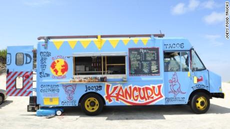 Joey Rugo operates a fleet of four food trucks in Wellfleet and Truro.