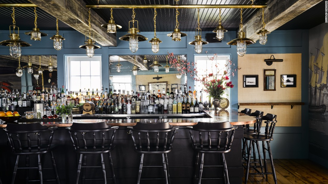Housed in the 1850 Provincetown home of whaler Captain John Cook, Strangers & Saints is a cozy new Mediterranean gastro-pub featuring local ingredients with a modern spin.