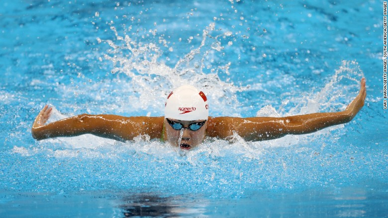 Chinese swimmer fails doping test in Rio