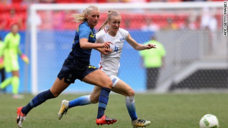 US women's soccer team loses to Sweden in Rio