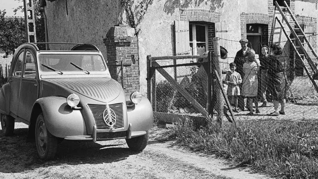 The Citroen 2CV had as little as two horsepower when it was launched, but it became one of France's most recognisable cultural symbols, and one of its best-selling cars.