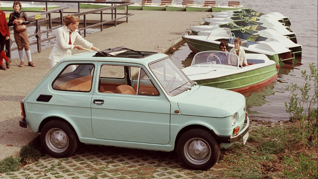 Fiat tried to replace the 500 with the 126, but while it was ultimately killed off in 1980, production continued in Eastern European countries like Poland, right through until 2000.