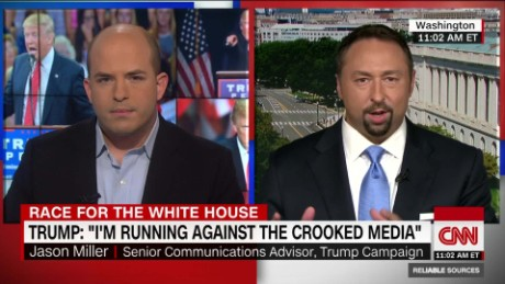 Trump aide: New York Times story is garbage