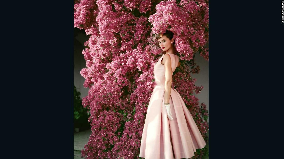 Audrey Hepburn by Norman Parkinson