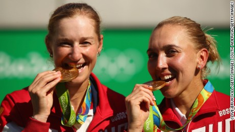 Why Olympians bite their medals