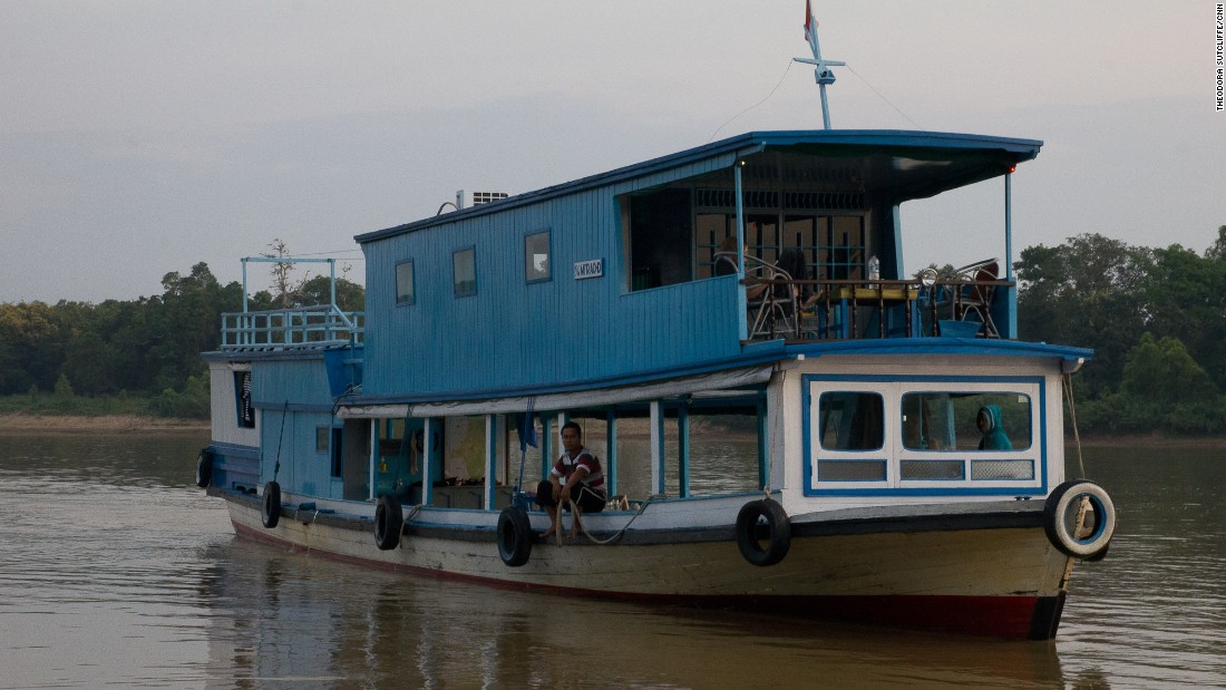 One of the best ways to explore Borneo's Mahakam River is by houseboat. You'll see Dayak longhouses, riverside trading posts, wetlands, lakes and floating villages.
