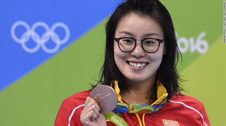 Chinese swimmer praised for challenging taboo