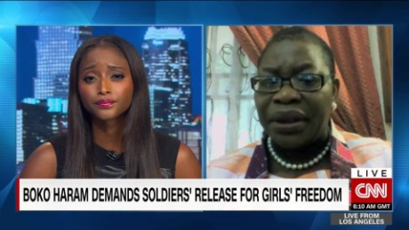 exp New Boko Haran video shows abducted Chibok girls_00063706