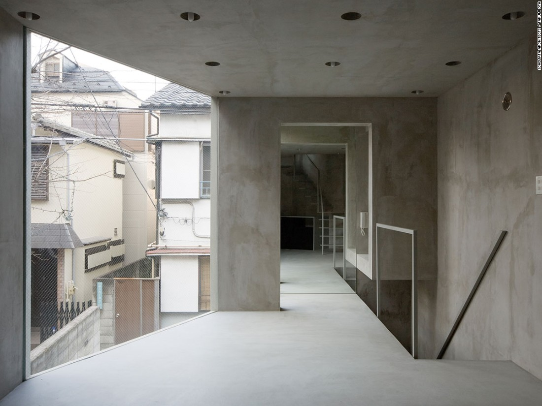 A project from Schemata Architects, 63.02° is a 768-square-foot home in the dense neighborhood of Nakano in Tokyo.