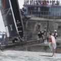 Americas Cup boats Portsmouth
