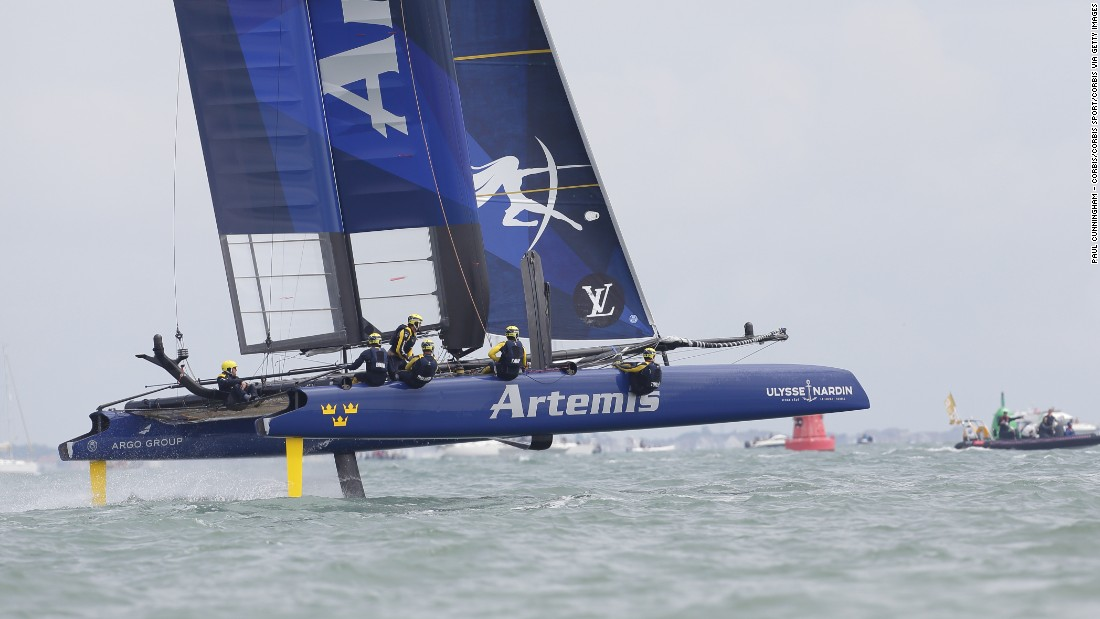 """Sweden's Artemis Racing team will be hoping to improve on its 2013 effort, when it failed to get past the challenger series. <a href=""""http://cnn.com/2016/09/11/sport/americas-cup-toulon-artemis-ainslie/index.html"""" target=""""_blank"""">Artemis won September's leg of the World Series in Toulon.</a>"""